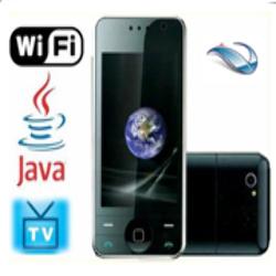 Celular F008 Touch WiFi Dual SIM TV JAVA 2 Cámaras 8GB *Refaccio