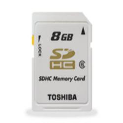 SD HC 8GB Toshiba Clase 6