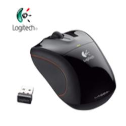 Mouse Láser Inalámbrico Logitech Nano V450 Notebook USB Micro
