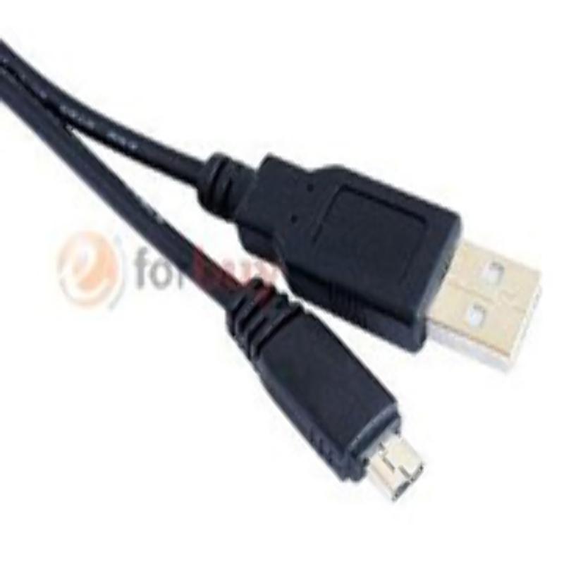 Cable de Datos USB para Camaras CASIO EXILIM EX-S10 S12 S200