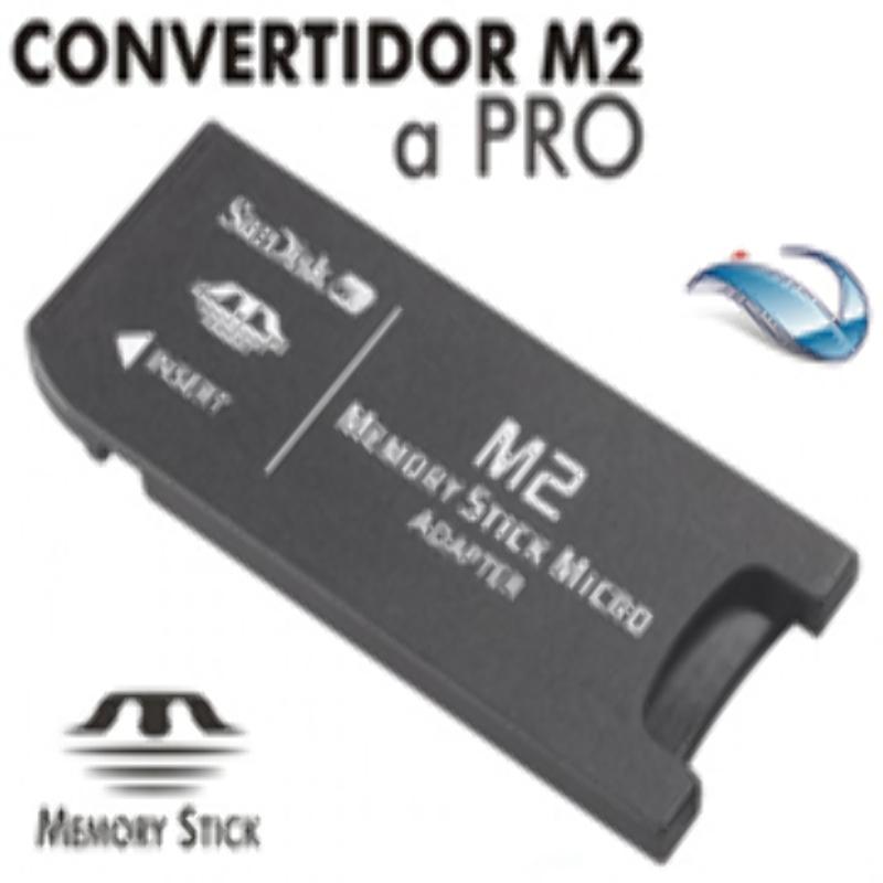 Adaptador M2 a Memory Stick Pro Sandisk