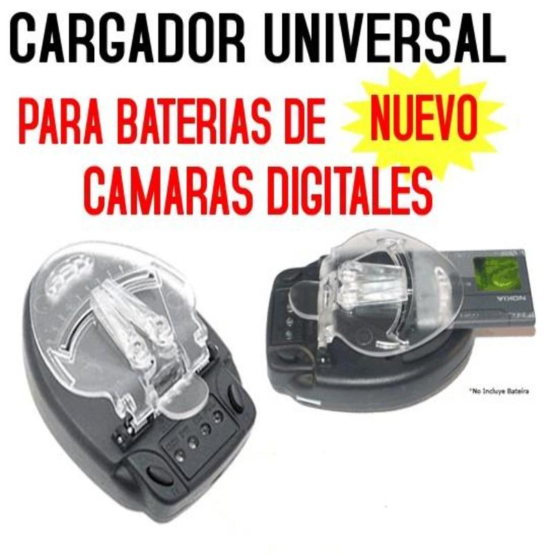Cargador Universal Bateria Camara Digital Celular