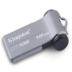 Pendrive Kingston Datatraveler 108 16GB Ultra Slim Portable