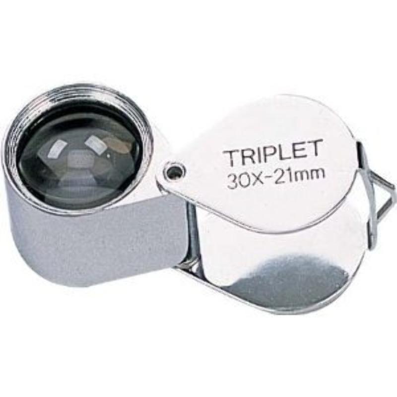 Lupa Joyero 30x 21mm Triplet