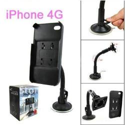 Soporte Automovil Stand para iPhone 4 iPhone 4S 360º Brazo