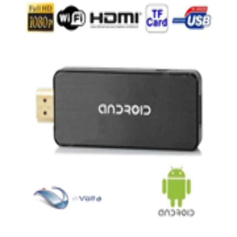 Mini TV PC Android Google USB Dongle Wifi HDMI Full HD 4.0