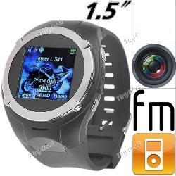 Reloj Celular MQ998 MP3 MP4 FM CAMARA
