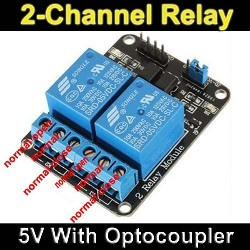 Arduino 2 Rele Relay 2 canales 5V