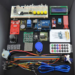 Arduino Uno Upgraded Starter Kit RFID Stepper