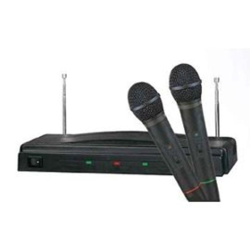 Set 2 Microfonos K&K AT-306 Karaoke