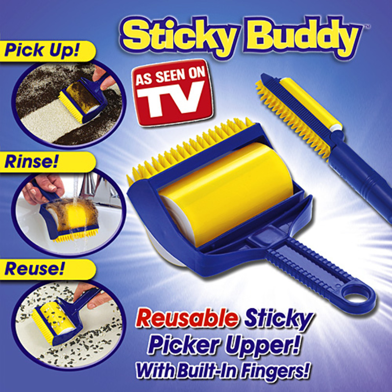 Sticky Buddy quita elimina Pelusas Pelo de mascota