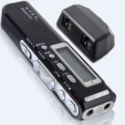 Grabadora Digital 8GB DictaPhone Mp3 Player