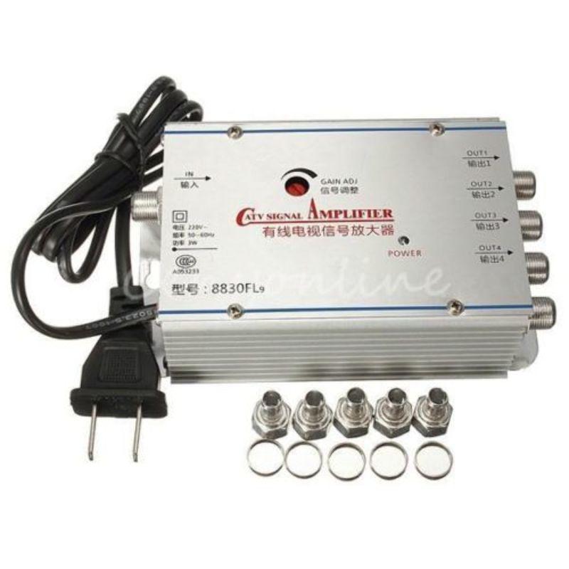 Amplificador CATV 4 Vias Booster 30dB