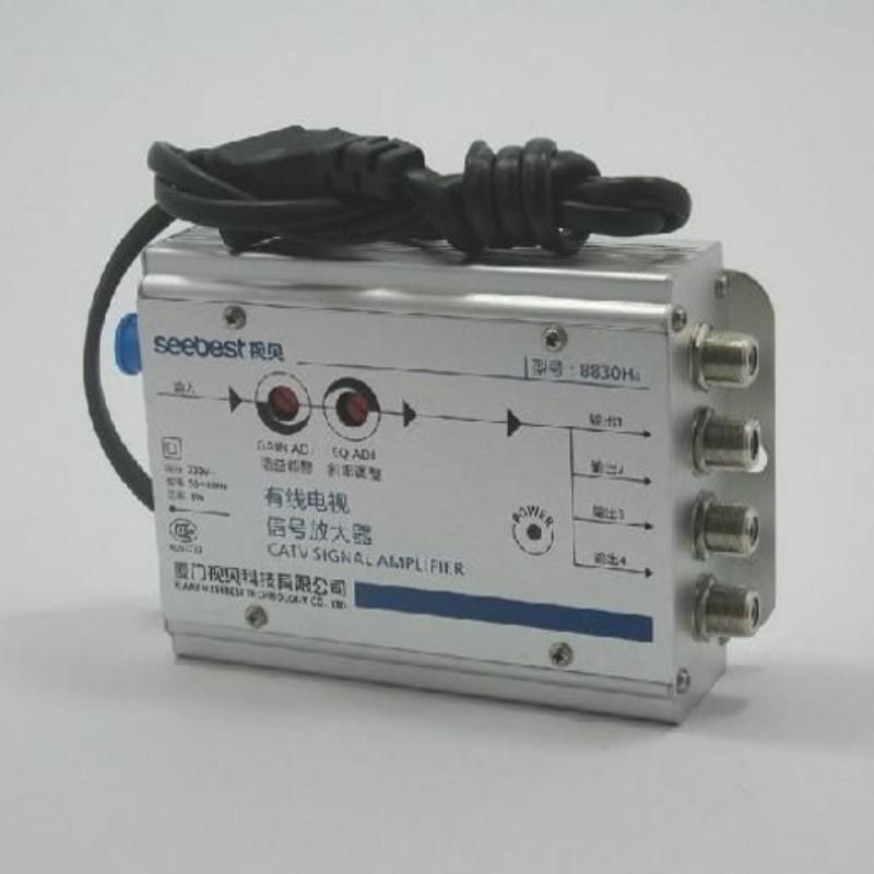 Amplificador CATV 4 Salidas 30dB 45-860MHz