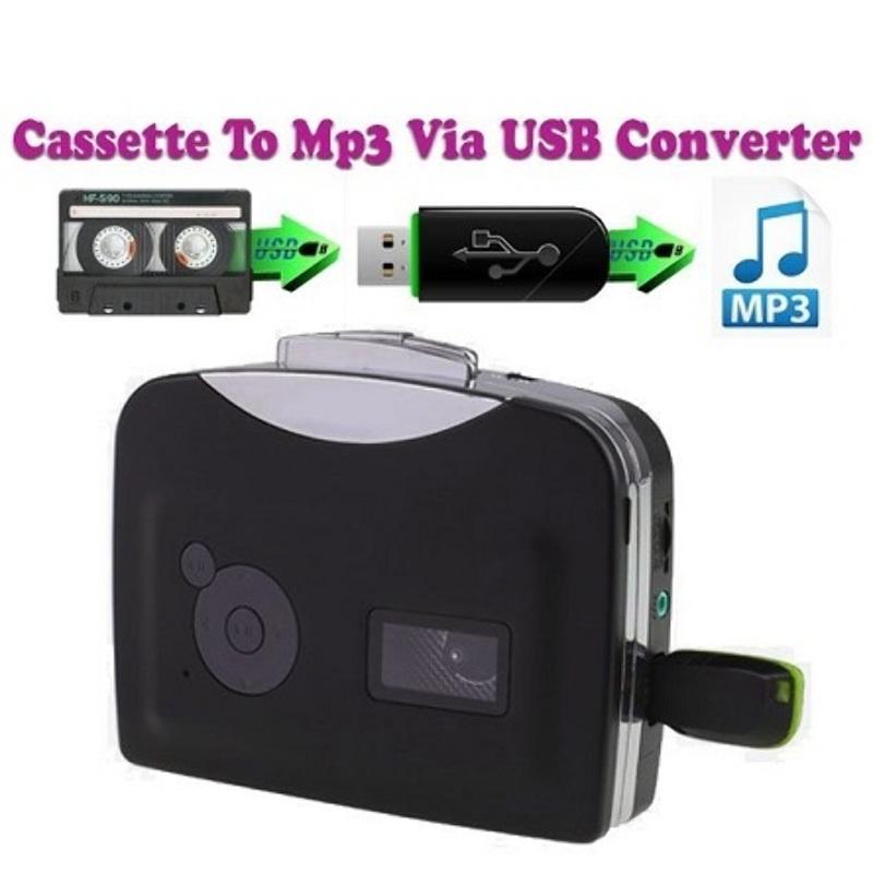 Convierte Transpasa Cassette a Mp3 USB