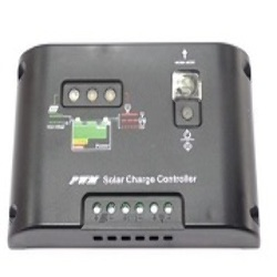 Controlador de Carga para Panel Solar Regulador de Voltaje 10A