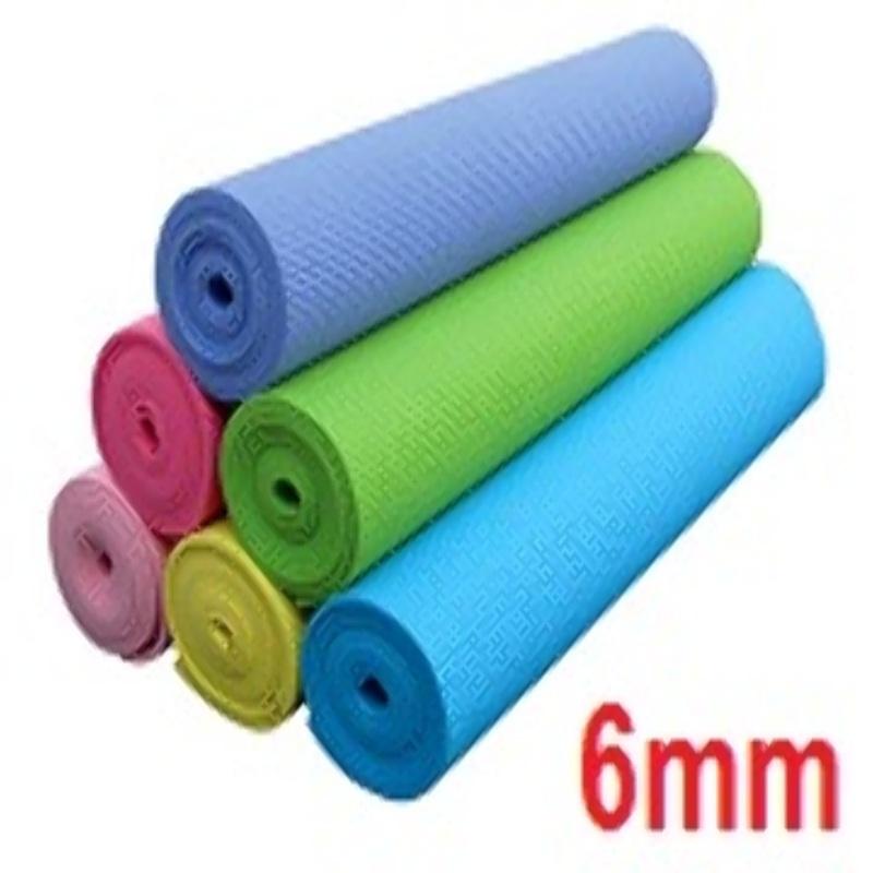 Colchoneta Alfombra para Yoga Pilates Goma Eva 6mm