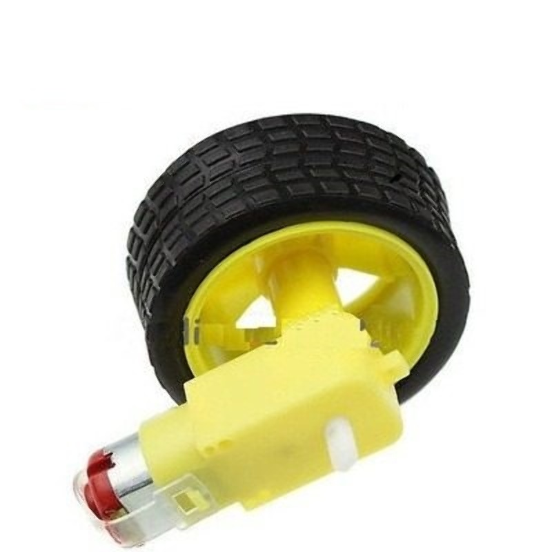 Motor Lento para Arduino con Rueda