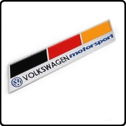 Insignia Emblema Volkswagen Motorsport