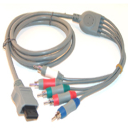 Cable Componente HD PRO para Wii