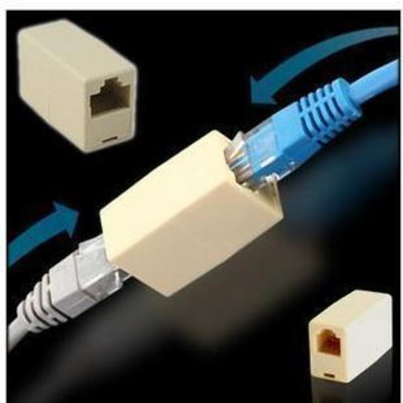 Copla Adaptador Rj45 Hembra Hembra Extension Cable Red