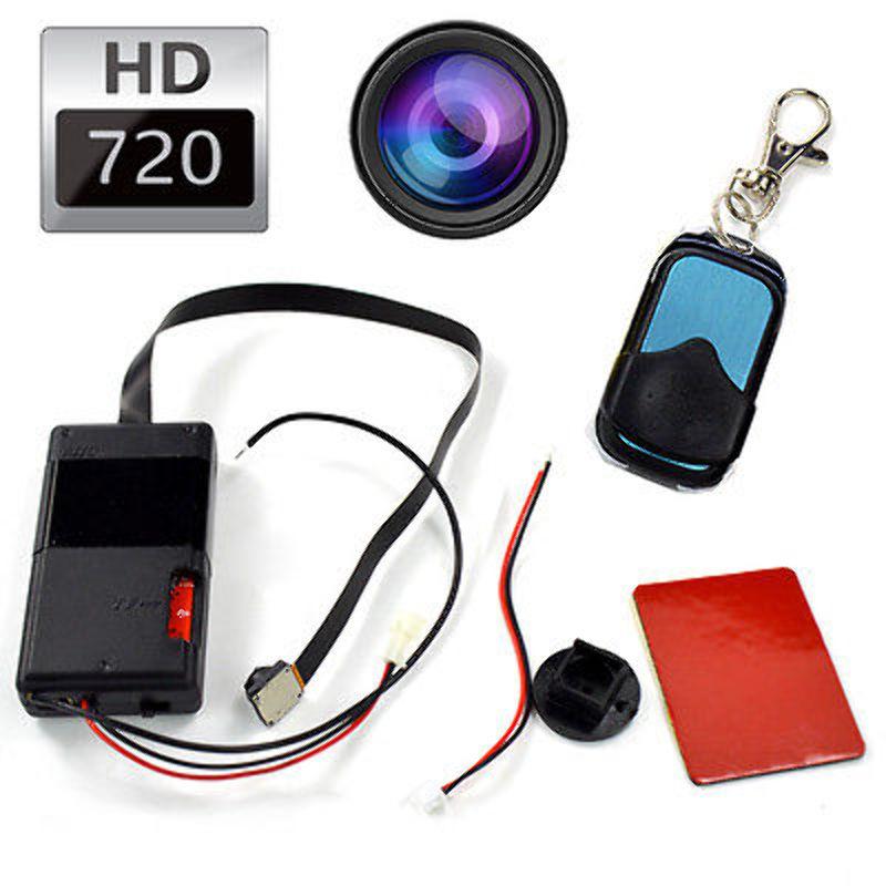 Camara Espia DVR H.264 Circuito Anti Robo 720p Control Remoto T1