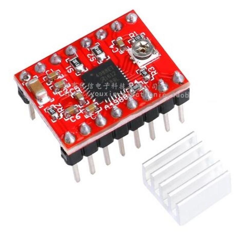 Controlador de Motores Paso a Paso Pololu A4988 Arduino Impresor