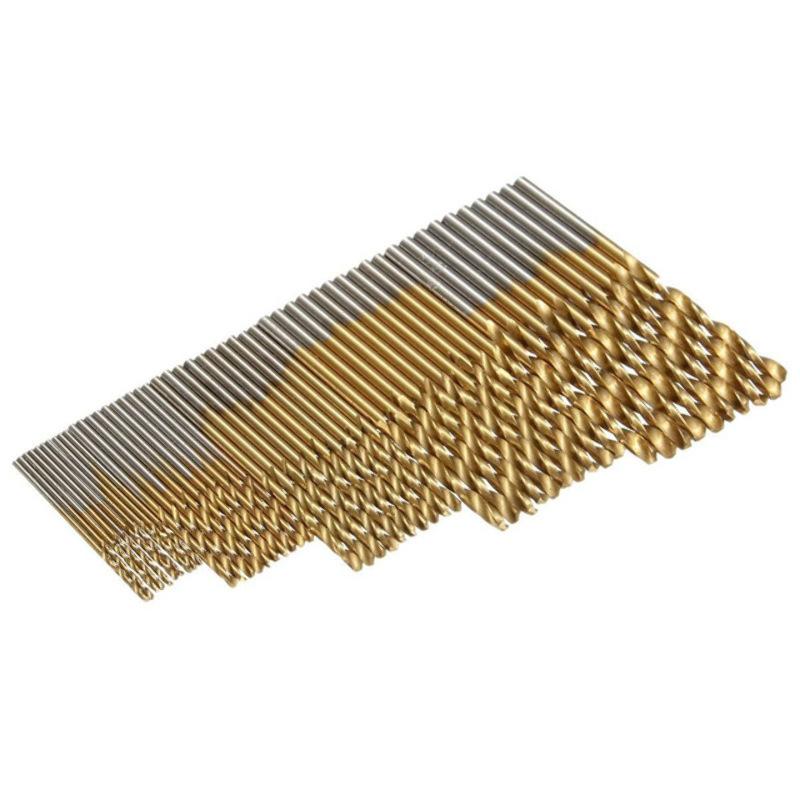 50 Mini Brocas Pequeñas Milimetricas 1mm 1.5mm 2mm 2.5mm 3mm