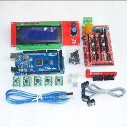 Kit Impresora 3D Tarjeta Controladora Ramps 1.4 Arduino Mega