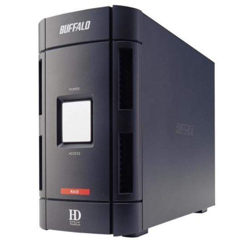 Buffalo Drivestation Dual 800GB ESPEJO RESPALDO! FireWire!