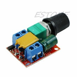 Controlador Dimmer Velocidad Motor 3-35V 5A PWM