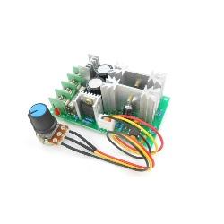 Controlador Regulador Velocidad Motor 9-60V 20A DC 12-48V