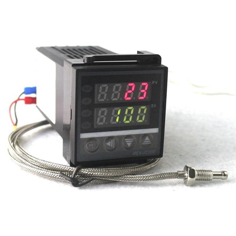 Termostato REX-C100 PID K Termopar 0-400°C