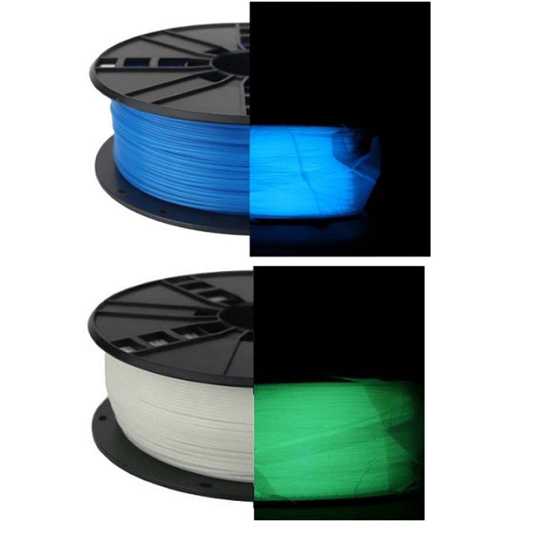 Filamento Impresion Impresora 3D PLA 1Kg 1.75mm Luminoso