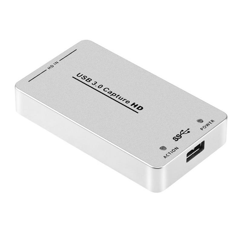 Capturadora 1080p 60fps USB 3.0 HDMI Xbox Ps4 Streaming