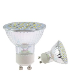 Ampolleta LED GU10 2800-3200k 8W Blanco Calido