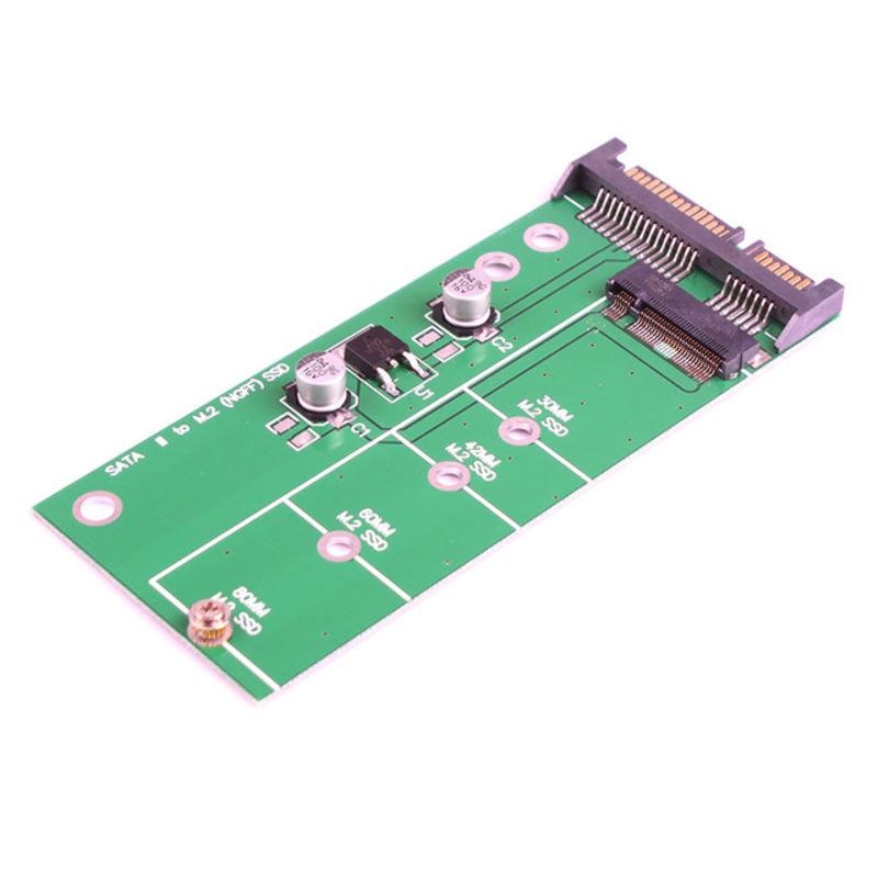 Tarjeta Adaptador Conversor SATA III 3 a M.2 (NGF) SSD