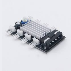 Hub 8 Canales 3pin Refrigeracion Ventilador 5v 12v Auto