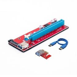 Tarjeta Vertical Riser BTC USB 3.0 V007s Miner 1-16x Rig Minado