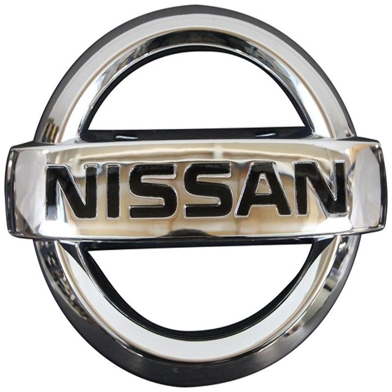 Emblema Insignia Nissan 12,5x10,5cm