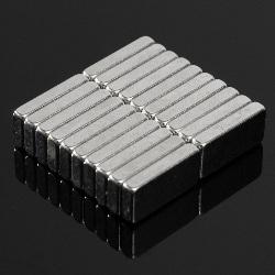 20 Imanes Neodimio 10x5x2mm N52