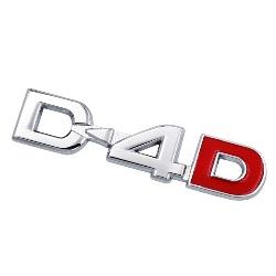 Emblema D4D D-4D Hilux Yaris Corolla Avensis Camry Highlander