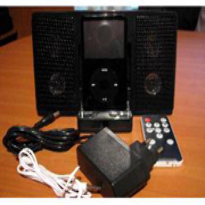 Parlantes iPod con Control y Cargador