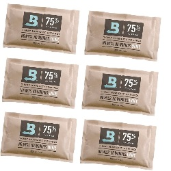6 Sobres Boveda Pack 75% 60gr Control Humedad