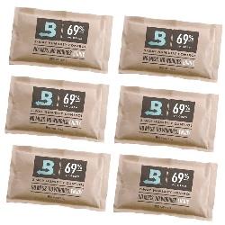 6 Sobres Boveda Pack 69% 60gr Control Humedad