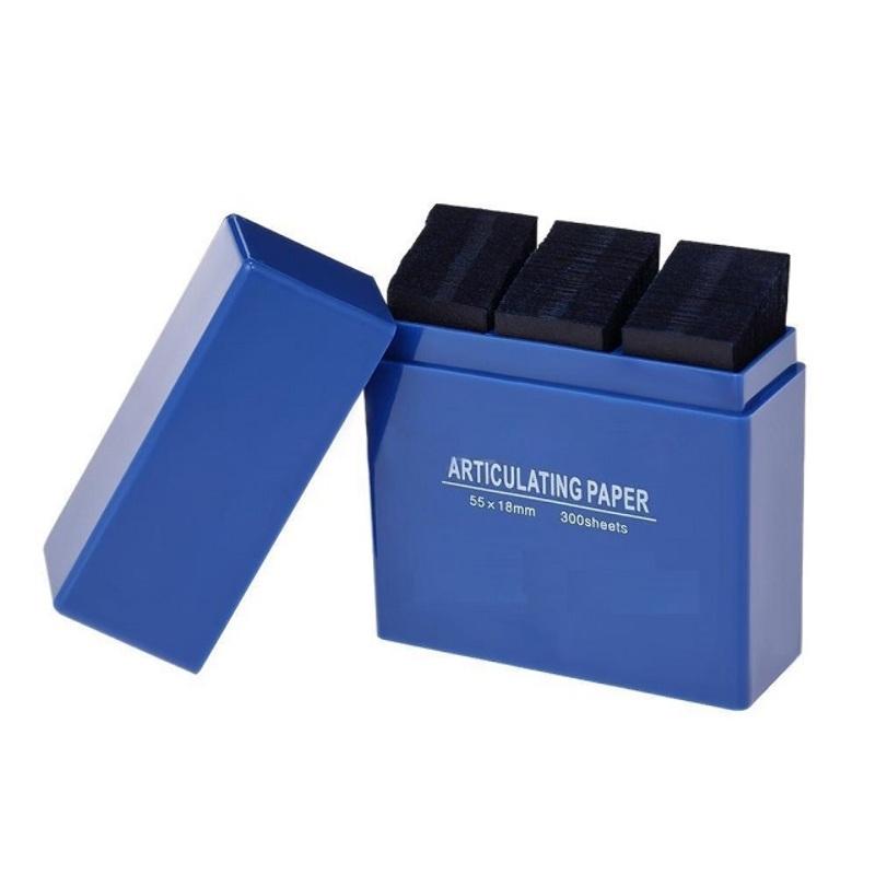 300 Papel Articular Altura Oclusion Dental 55x18mm