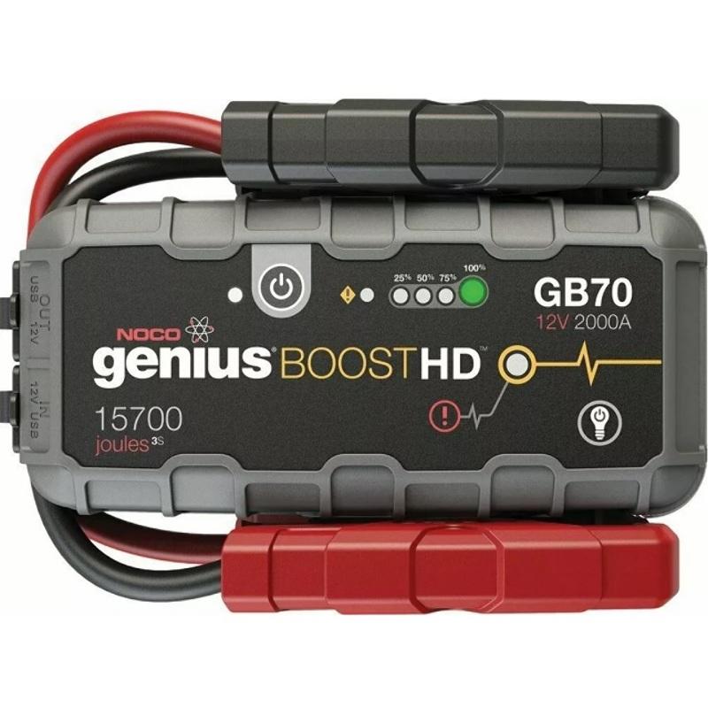 Partidor de Vehiculos Noco® Genius Boost HD GB70 12V 2000A