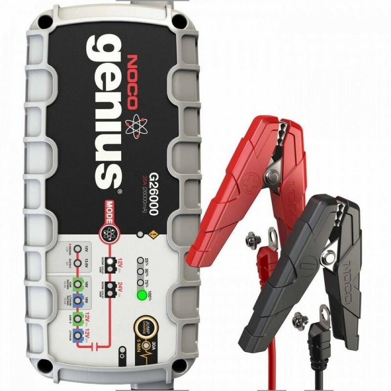 Cargador de Baterías Noco G26000 12V 500Ah / 24V 250Ah