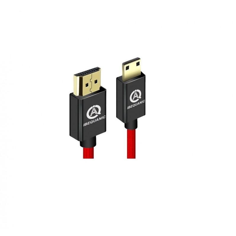 Cable Mini Hdmi A Hdmi 1.4 3d 4k 1080p Tablet Camara 1mt